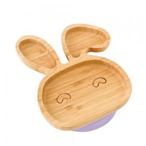 Bamboobino bunny plate