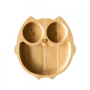 Bamboobino owl plate
